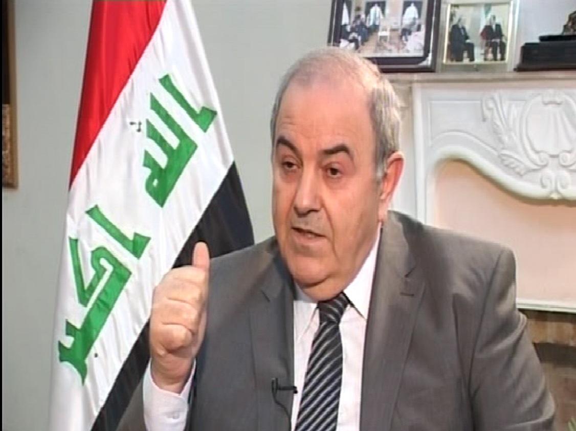 علاوي: الجماعات الارهابية تستغل غياب الاستقرار السياسي