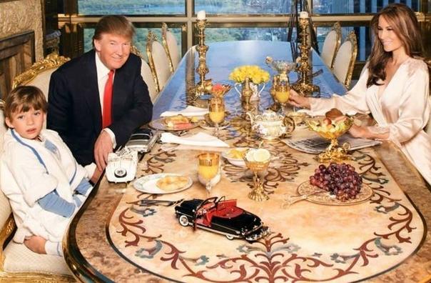 بالصور : جولة داخل منزل الرئيس ترامب فخامة لا توصف