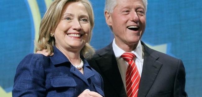 مفاجأة.. طلاق هيلاري وبيل كلينتون!