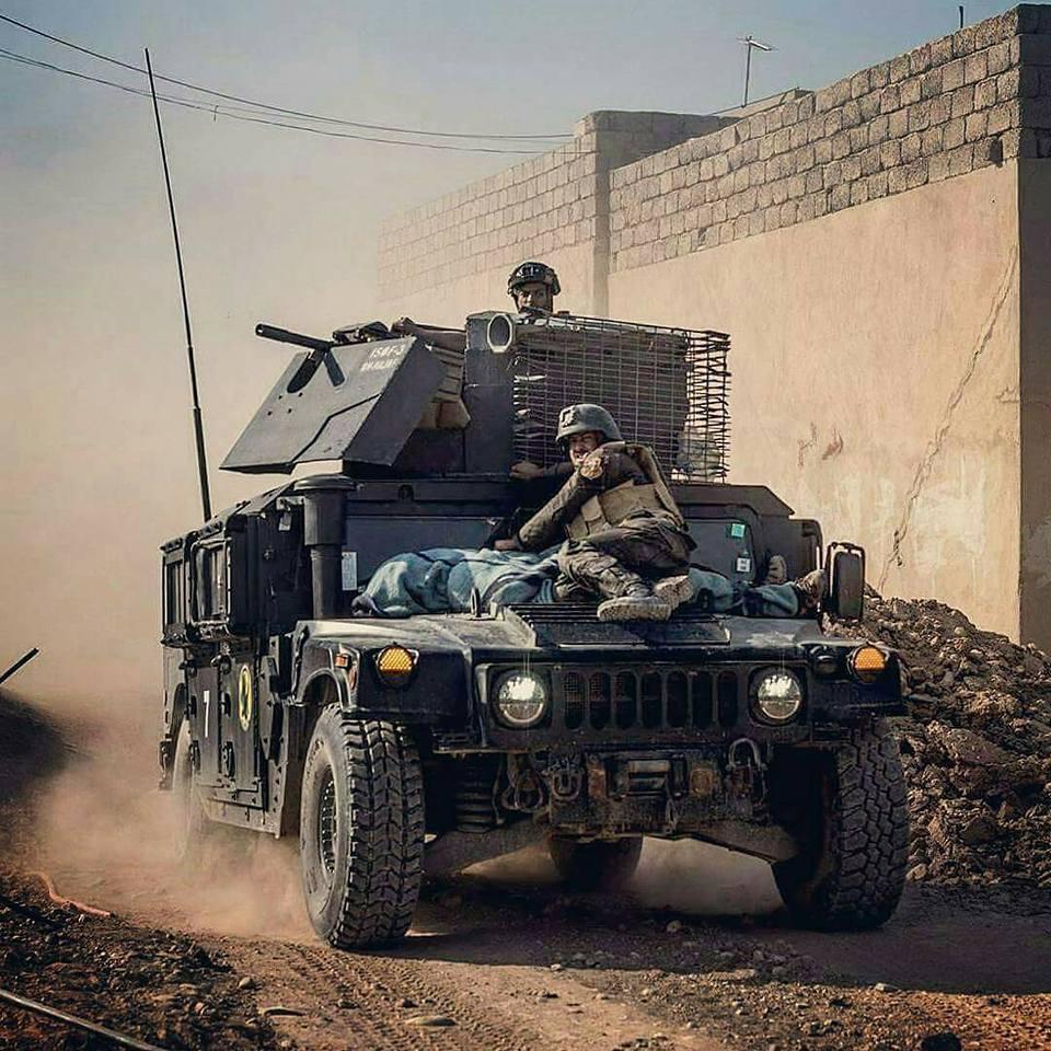 القوات الامنية تحرر حي المحاربين شرق الموصل