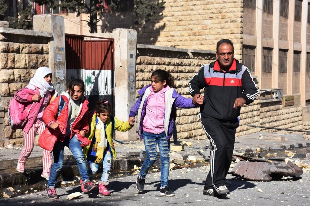 منظمة سايف ذا تشيلدرن الانسانية تعتبر موت الأطفال في حلب فضيحة
