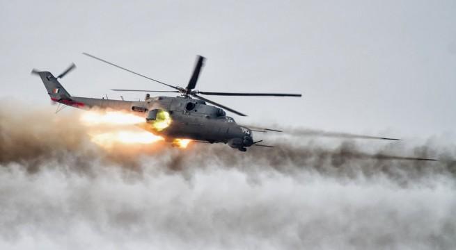 الطيران العراقي يقتل 7 دواعش و تدمير عجلتين غرب الرمادي