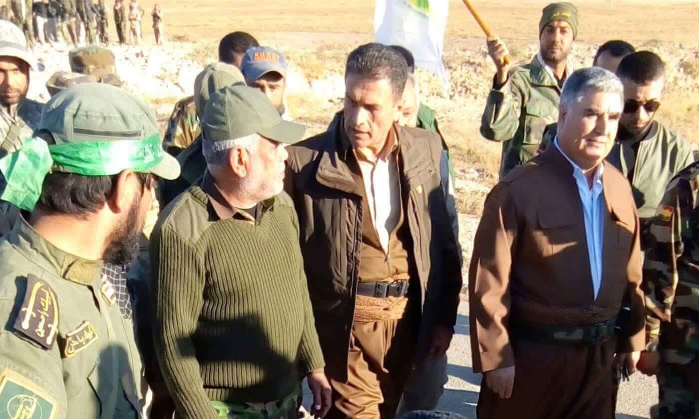 رويترز:تنسيق بين الحشد الشعبي والبيشمركة بعد عزل الموصل