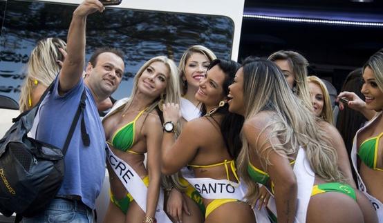 بالفيديو والصور: مسابقة اجمل مؤخرة في البرازيل