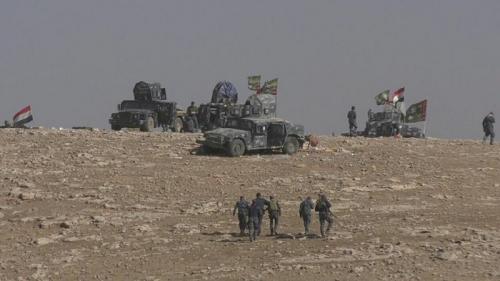 الشرطة الاتحادية تعلن تطهير المحور الجنوبي للموصل بالكامل