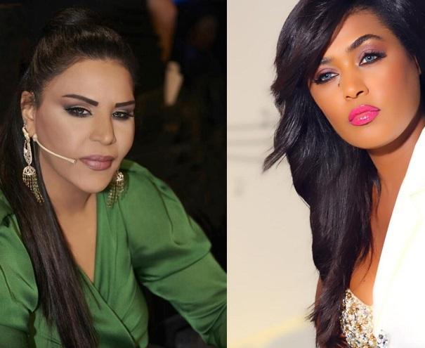 فنانة سعودية تهدد فنانة امارتية بسرقة مجوهراتها واختطاف احدى بناتها