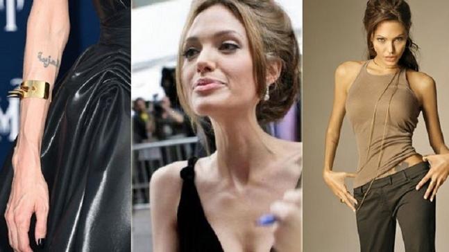 بالصور أنجلينا جولي تخسر وزنها ليصبح 34 كغ