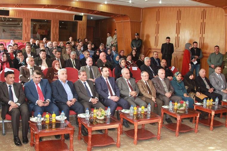 وزارة التخطيط العراقية تنظم احتفالية تكريم الموظف المثالي عام 2016