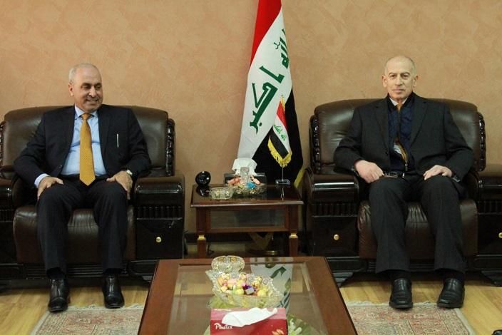 وزير التخطيط العراقي يبحث مع  نائب رئيس الجمهورية عمليات اعادة اعمار المناطق المحررة  وامكانية تنفيذ التعداد السكاني ومكافحة الفقر في العراق