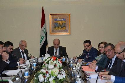 لجنة الشؤون الاقتصادية الوزارية العراقية  توجه باعادة اعمار الجامعات في المناطق المحررة
