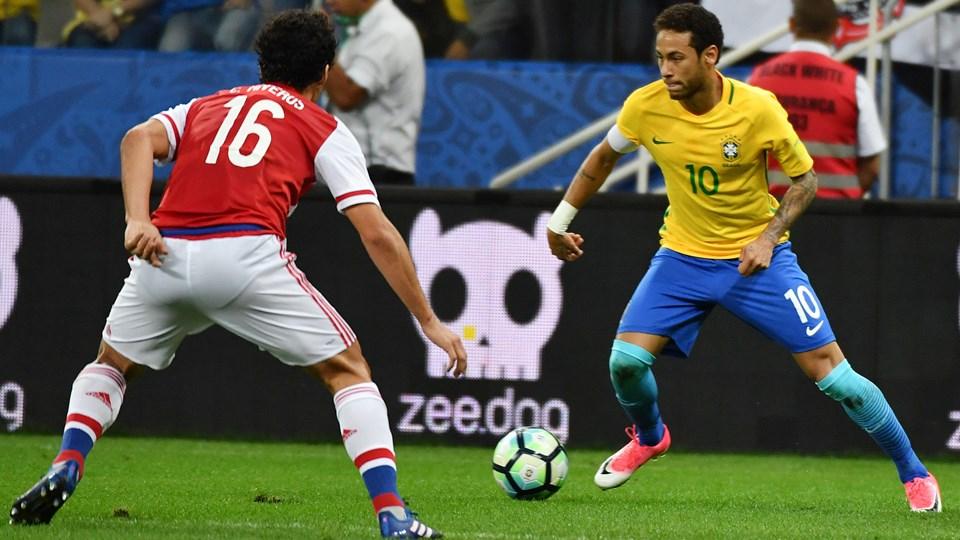 البرازيل تقترب من التاهل والارجنتين تضع نفسها في مازق بغياب ميسي الموقوف