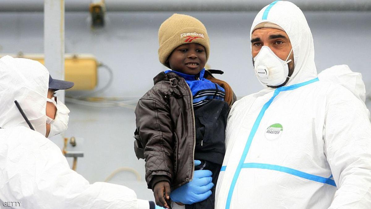 تحديد قانون إيطالي يوفر الرعاية للأطفال المهاجرين