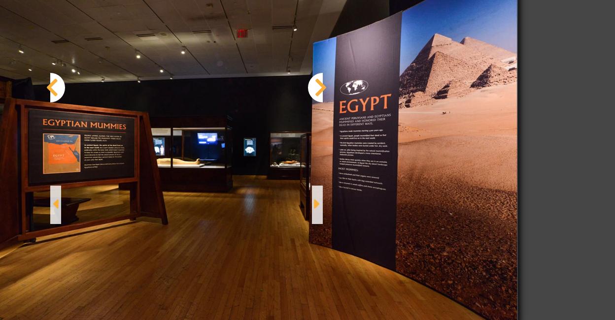 عرض مومياوات مصر وبيرو في متحف التاريخ الطبيعي بنيويورك