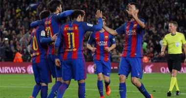 برشلونة ينتظر رقم قياسي على كامب نو أمام إشبيلية بالليجا