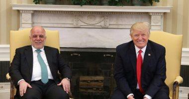 ترامب والعبادي يؤكدان التزامهما باتفاق الشراكة الاستراتيجية