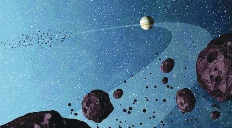 باحثون : كويكب يسير عكس اتجاه الأفلاك