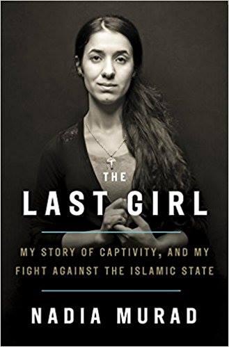 نادية مراد والفتاة الاخيرة كتاب تحاكي به معركتها ضد داعش