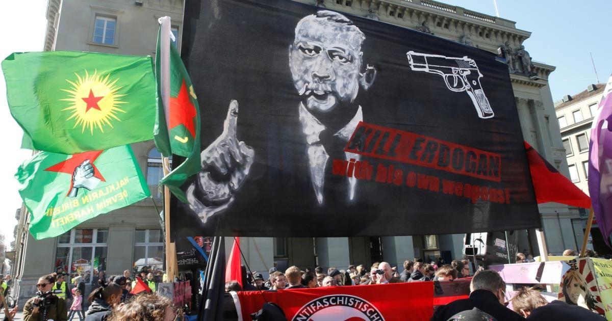 توتر بين تركيا وسويسرا بسبب مظاهرة للأكراد ببيرن