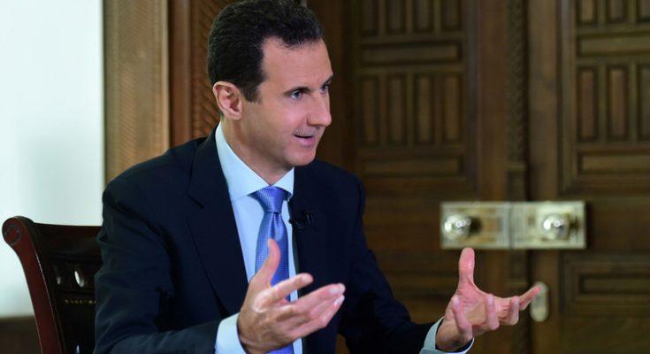 الاسد :نؤيد مبادرات موسكو حول الدستور والتحالف غير جاد بمحاربة داعش