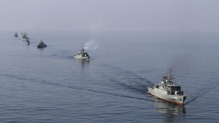 قادة بحرية الامريكية تتهم إيران بتهديد الملاحة الدولية
