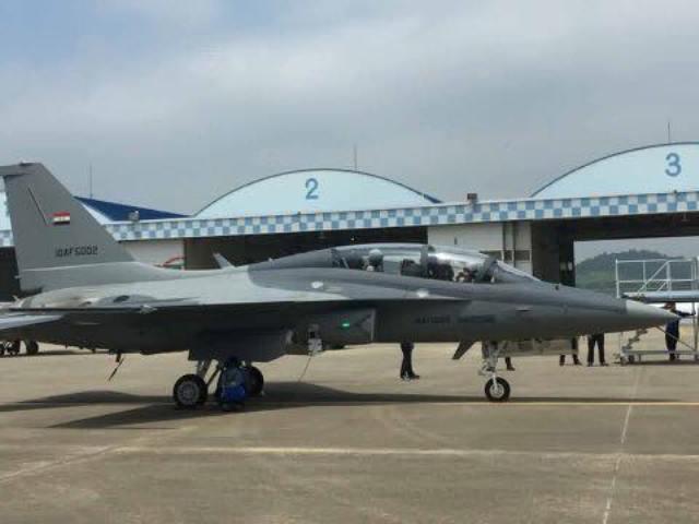 الدفاع تعلن وصول الوجبة الأولى من الطائرات الكورية المقاتلة  T50 للعراق