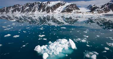 دراسة: مساحة الثلوج الشتوية تسجل أدنى مستوى لها في القطب الشمالى
