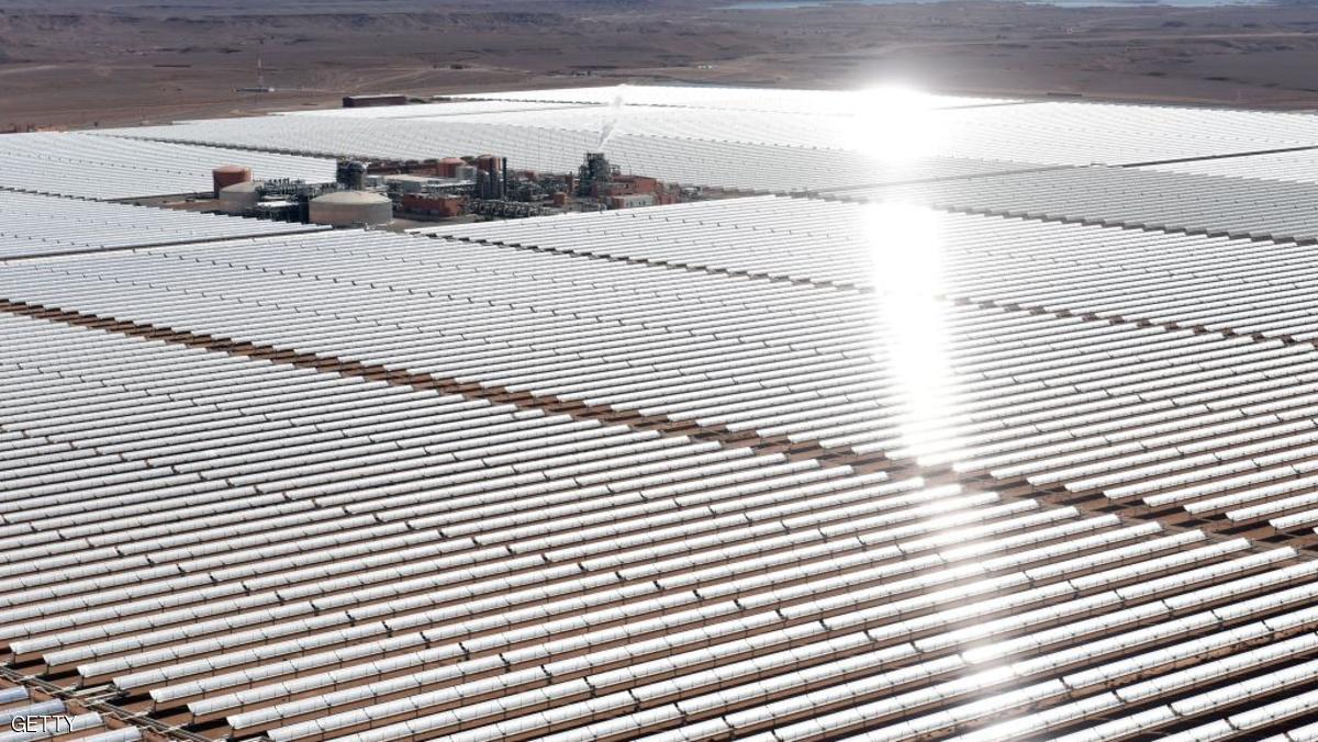 المغرب تبدء أعمال المرحلة الأخيرة لأكبر محطة طاقة شمسية