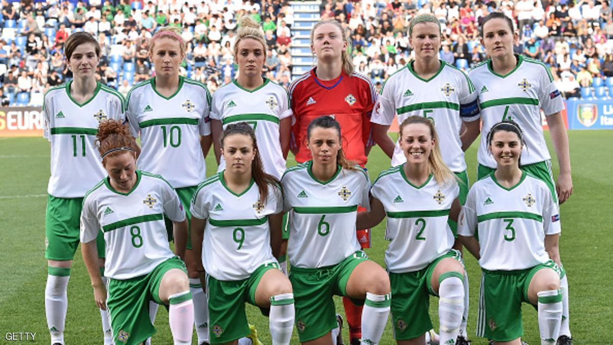 تمييز مذل ضد نساء كرة القدم بأيرلندا