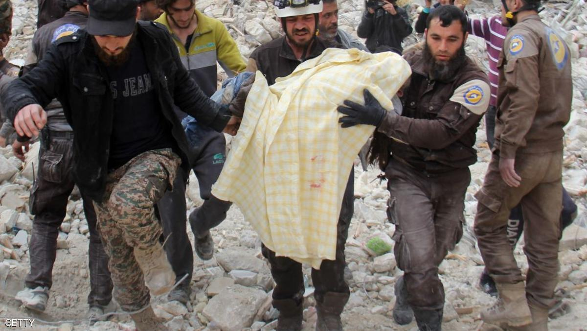روسيا: الطيران السوري استهدف مستودع  مواد سامة للمعارضة
