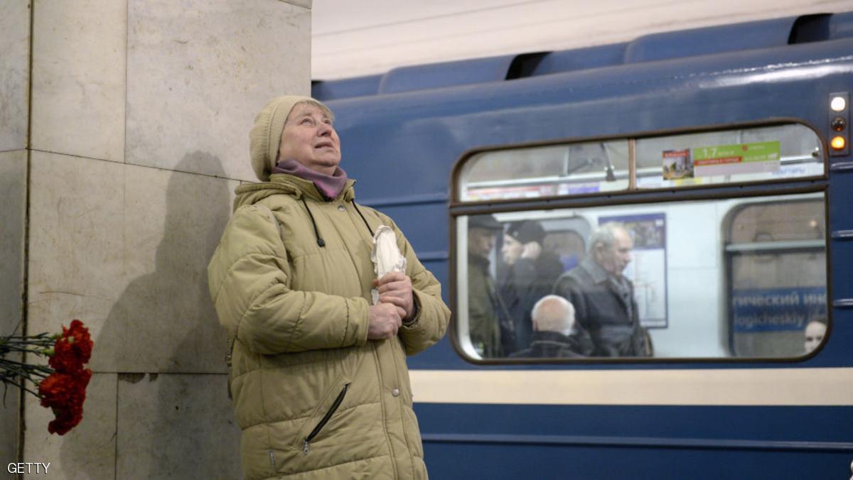 روسيا تعوض ضحايا مترو سان بطرسبرغ