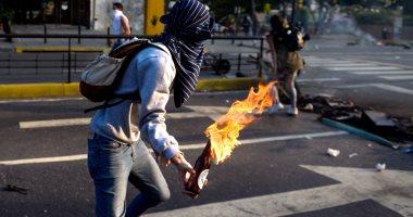 تظاهرة في فنزويلا تتخللها اشتباكات بين الشرطة ومعارضين