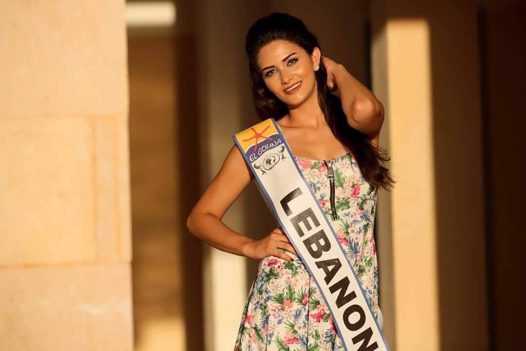 الحسناء زهرة سيد تمثل لبنان في مسابقة Miss top model of the world 2017.