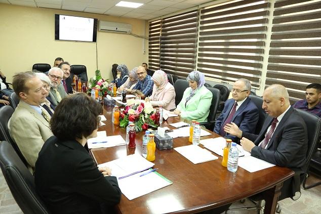 وزارة التخطيط تبحث مع الوكالة الامريكية للتنمية الدولية في العراق تقييم المرحلة السابقة من عمل مشروع AMEG
