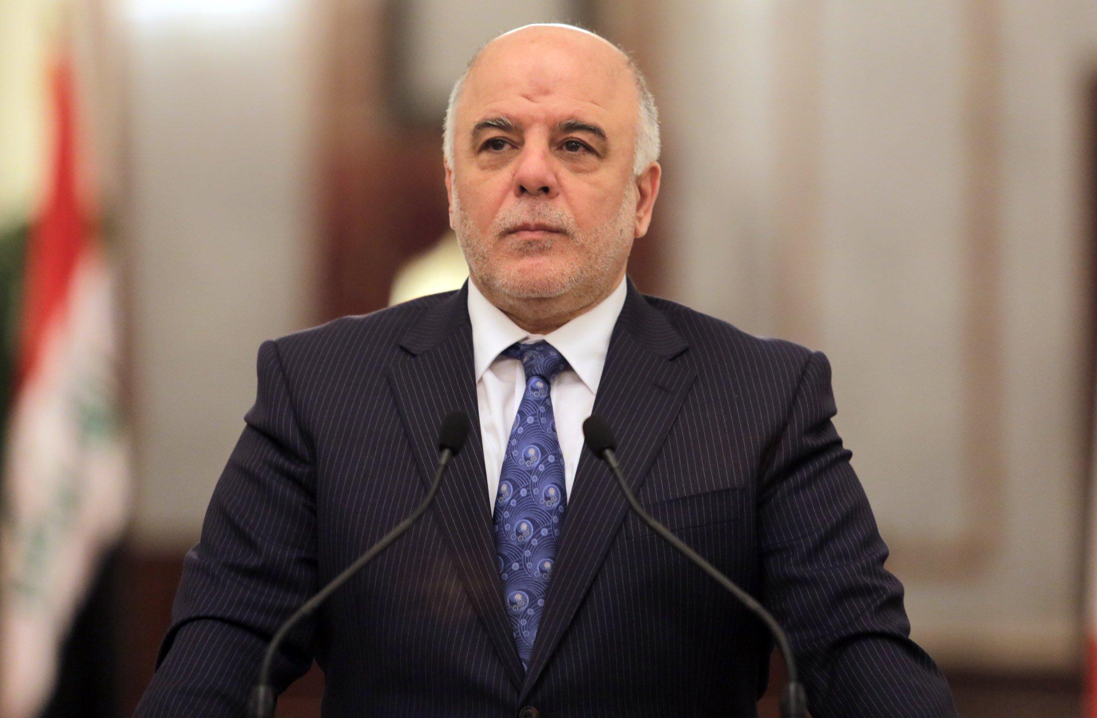 العبادي:نرفض تقسيم العراق على أساس عرقي ولن نتخلى عن الكرد