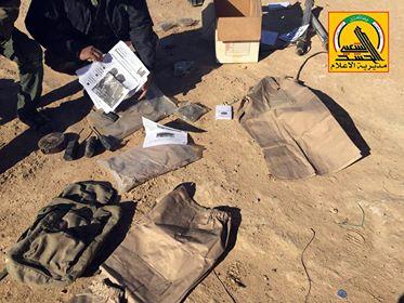 الحشد يعثر على معسكر تدريب وورشة تفخيخ لداعش ببادية الجزيرة