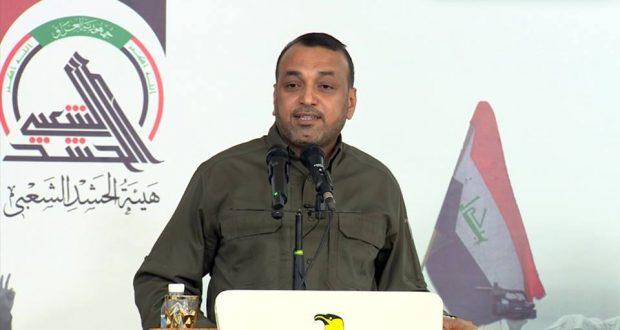 احمد الأسدي شاكراً المهندس:سأظل جنديا للعراق والحشد الشعبي والمرجعية