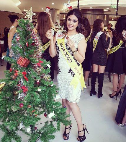 شيماء بوشان تصل  للنهائيات مسابقة ملكة جمال السياحة الدولية