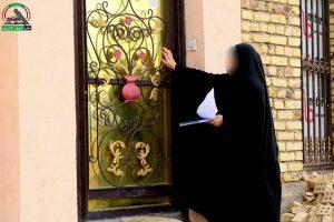 مكتب النجف التابع للحشد يزور عوائل الشهداء في منازلهم لترويج معاملاتهم وارسالهم للحج