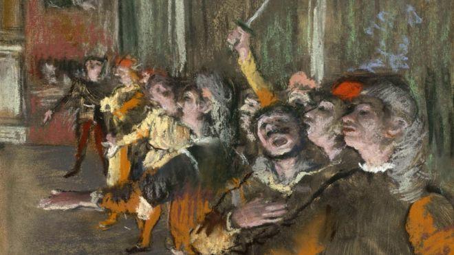 العثور على لوحة مسروقة للرسام إدغار ديغا في حافلة قرب باريس