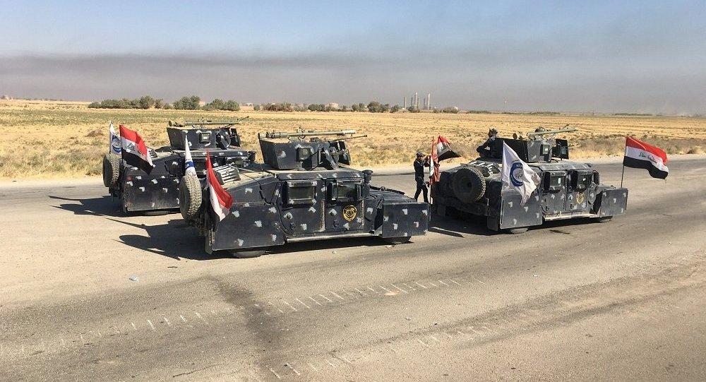 داعش يشتبك بالأسلحة الثقيلة مع القوات العراقية والحشد الشعبي جنوب كركوك