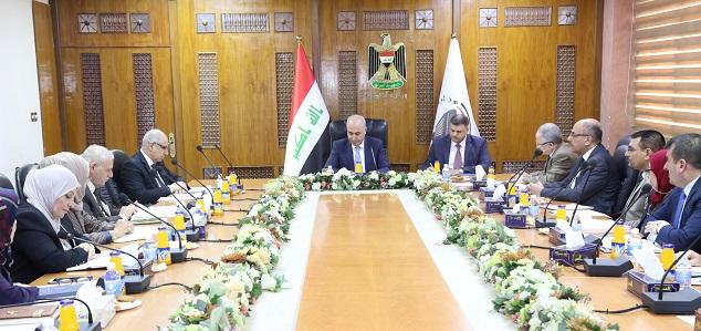 وزير التخطيط العراقي  : دور الوزارة سيتعاظم خلال المرحلة المقبلة في اعادة الاعمار وتحقيق التنمية في العراق