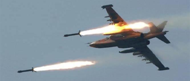 طائرات امريكية تقصف مواقع لداعش جنوبي الرمادي والشرطة المحلية تفرض حظرا للتجوال