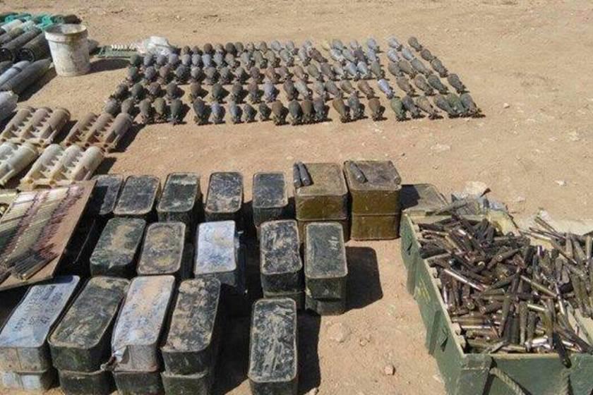 الاستخبارات العسكرية تضبط مخبأ للاسلحة والاعتدة جنوبي الموصل