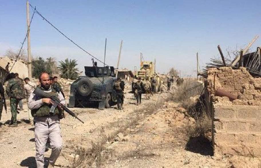 القطعات المشتركة تضبط 3 مضافات تابعة لداعش جنوب غربي كركوك