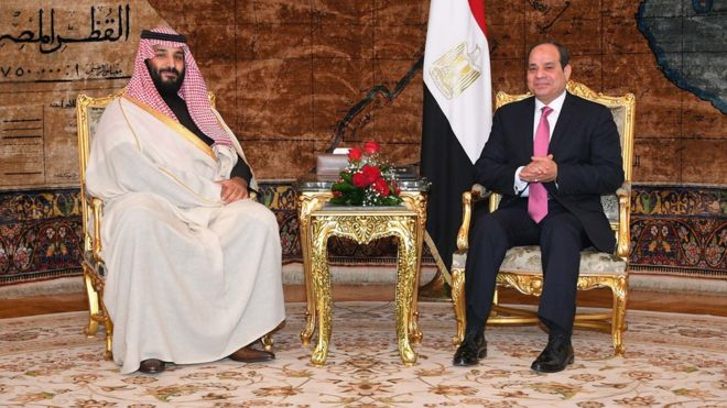 """مصر تخصص ألف كيلومتر مربع في جنوب سيناء لمشروع مدينة """"نيوم"""" السعودي"""