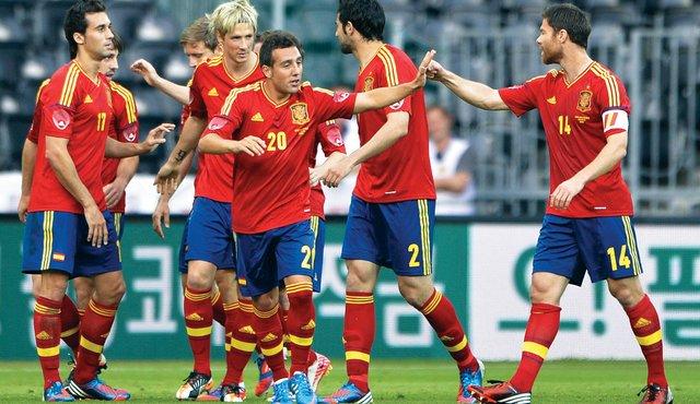 منتخب إسبانيا يرصد 125 ألف يورو لكل لاعب حال التتويج بالمونديال
