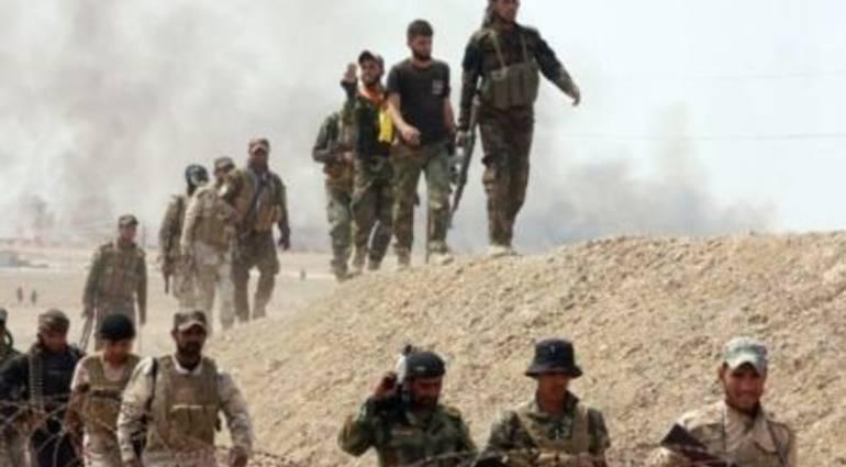 عملية استباقية للحشد الشعبي في محيط سامراء المقدسة تنجح بضبط مضافات لداعش