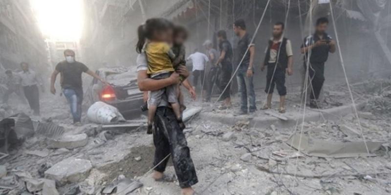 روسيا:300 مدني غادروا الغوطة الشرقية لدمشق