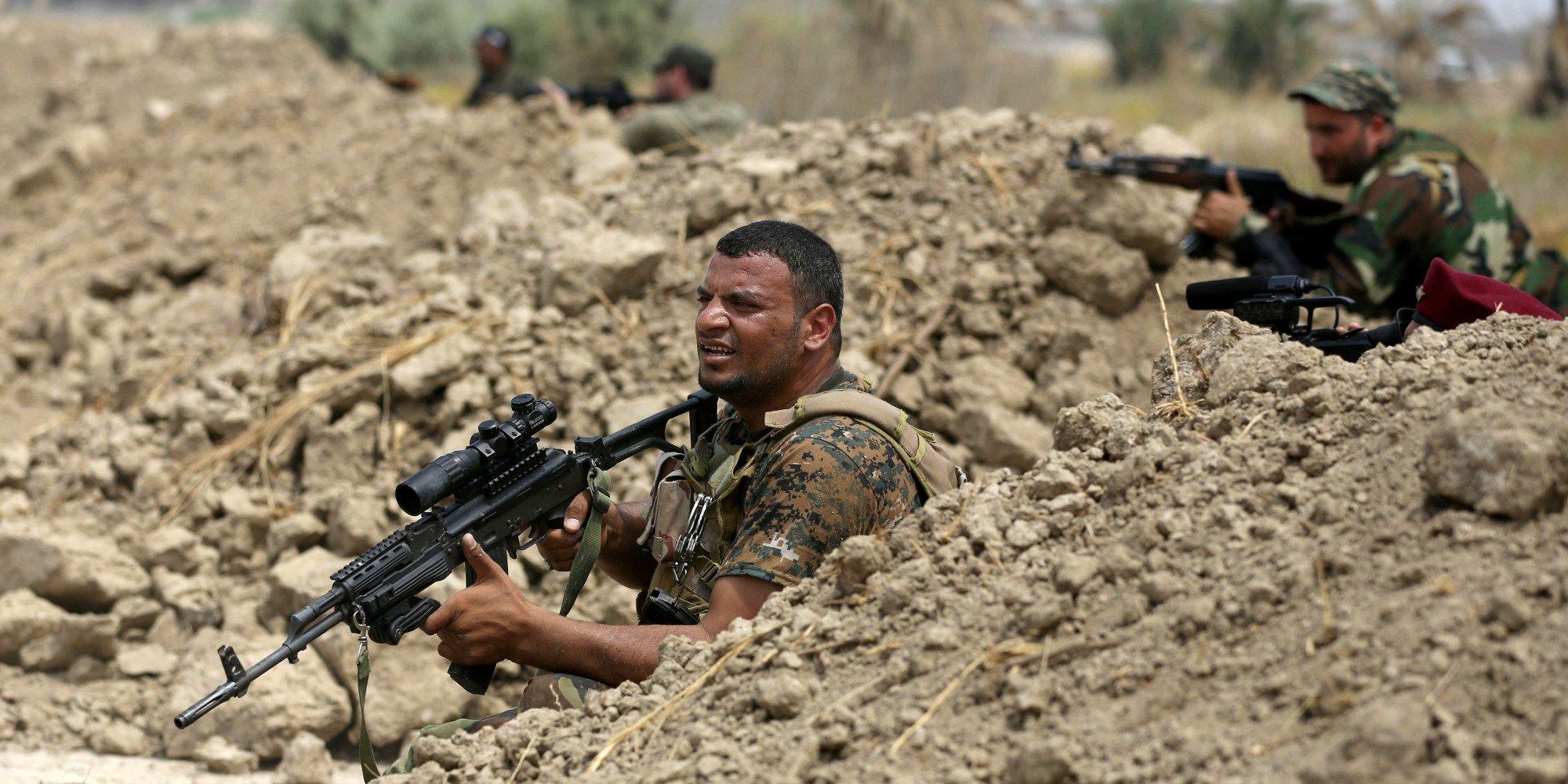 الحشد الشعبي : المباشرة بعمليات تفتيش وتعقب خلايا داعش في قرية تل شرف
