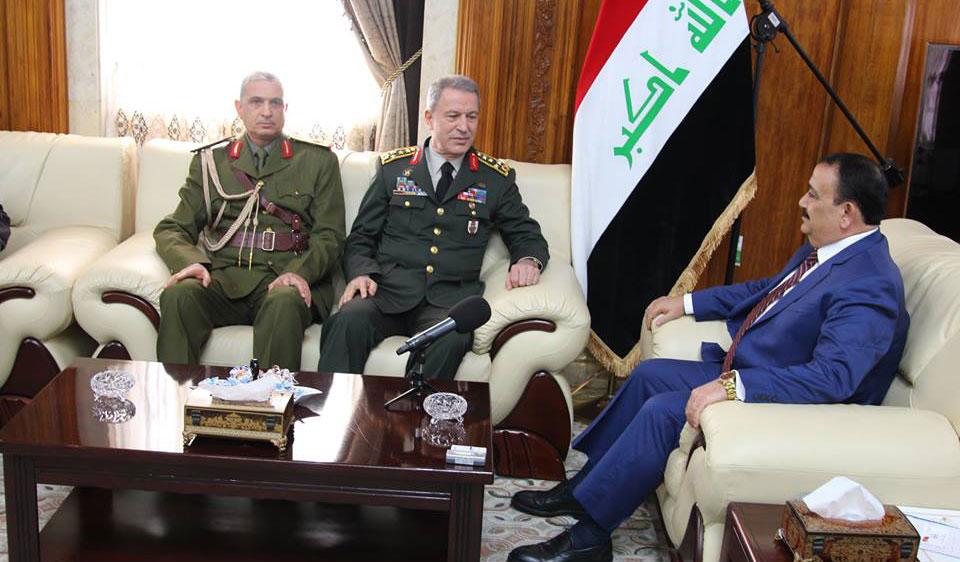 رئيس الأركان التركي في بغداد لبحث العلاقات العسكرية بين العراق وتركيا